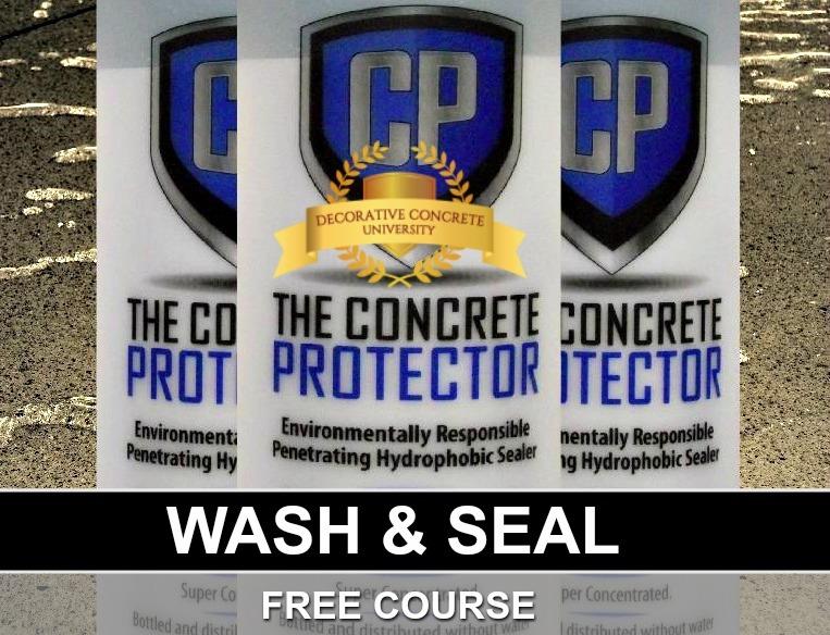Wash & Seal – DIY